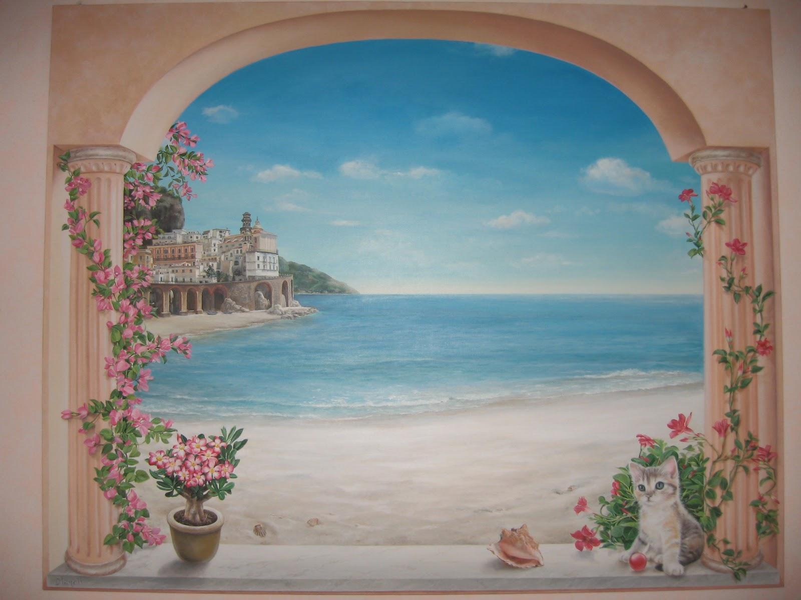 Laboratorio artistico mimina trompe l 39 oeil - Quadro finestra ...