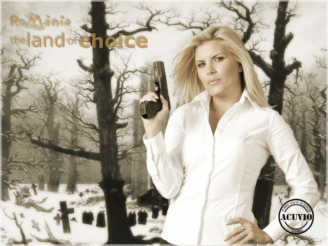 Elena Udrea Land of choice funny photo