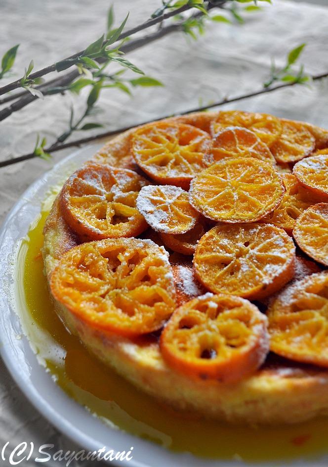 Tangerine Ricotta Pudding - A Homemaker's Diary