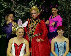 Alice in Wonderland group shot.