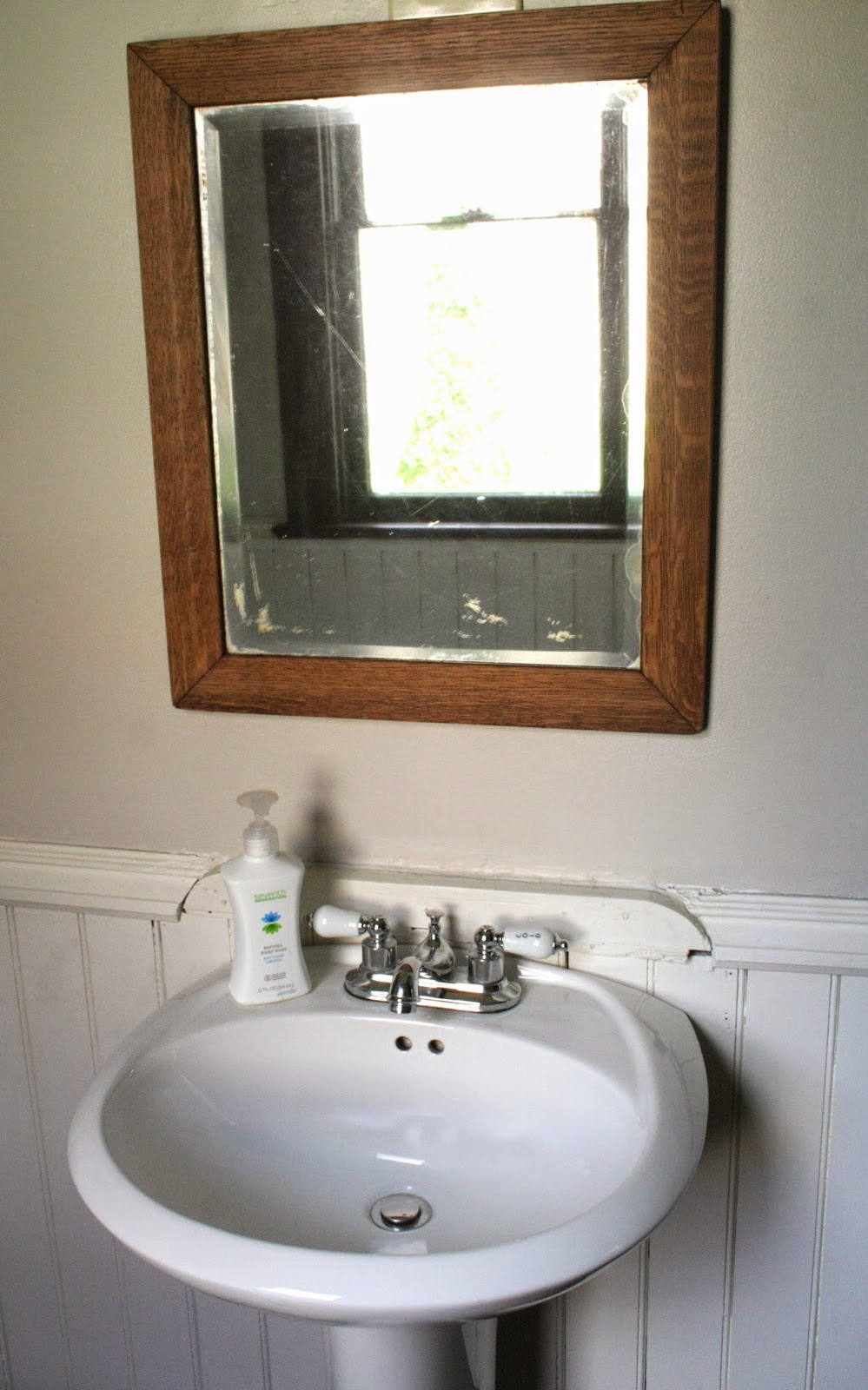 Where can i go to the bathroom - We Tried To Go As Cheap As Possible While Still Having It Match The Rest Of Our House We Got The Pedestal Sink From The Habitat For Humanity Restore For