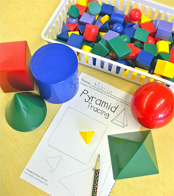 Solid figures ideas and resources for early elementary classrooms