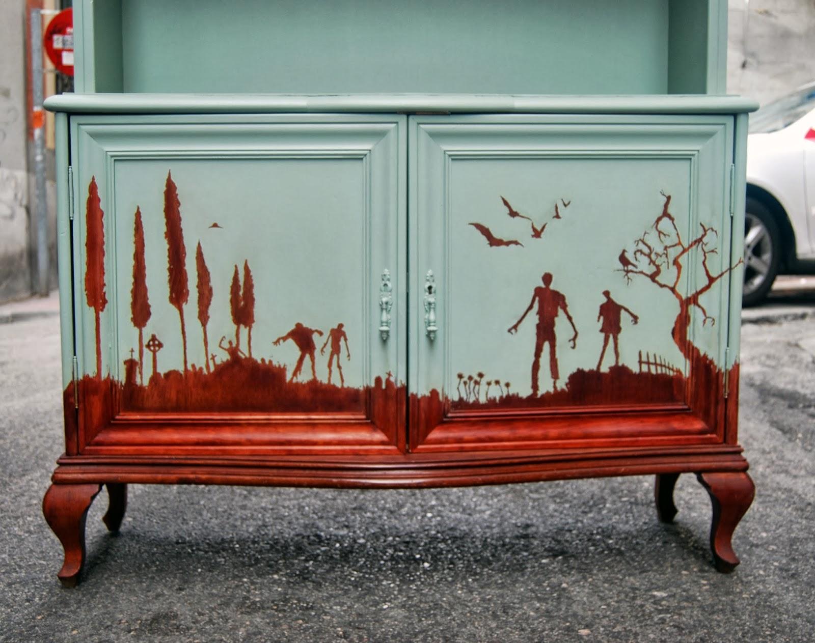 El mueble de los muertos vivientes la tapicera - Colores madera muebles ...