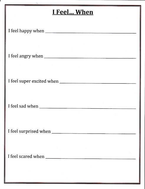 Self Control Worksheets | Free Printable Math Worksheets - Mibb-design ...