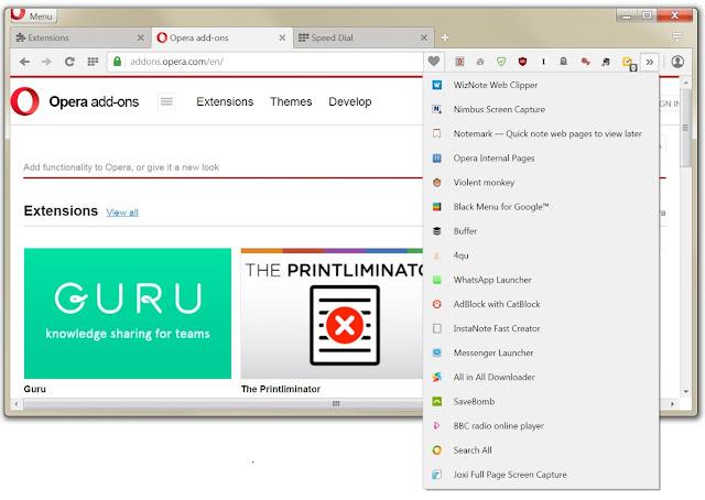 New Opera Browser