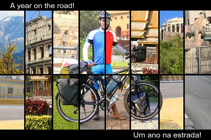 Leandro by bike