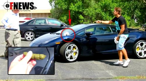 Του έβαλαν σκ….α στη Lamborghini και δείτε πως αντέδρασε ο ιδιοκτήτης