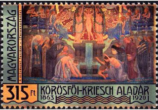 Hungary: ALADÁR KÖRÖSFŐI-KRIESCH WAS BORN 150 YEARS AGO