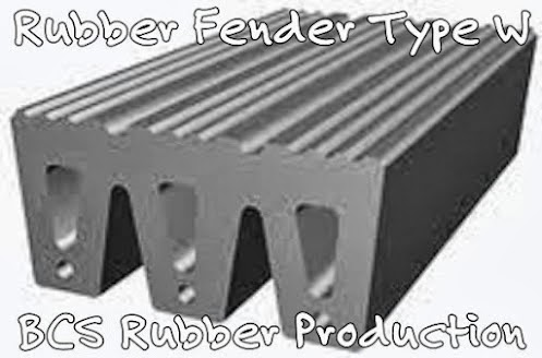 Gallery Product Rubber Fender W - BCS Rubber Industry