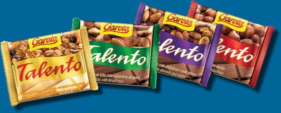 Talento bom é chocolate!