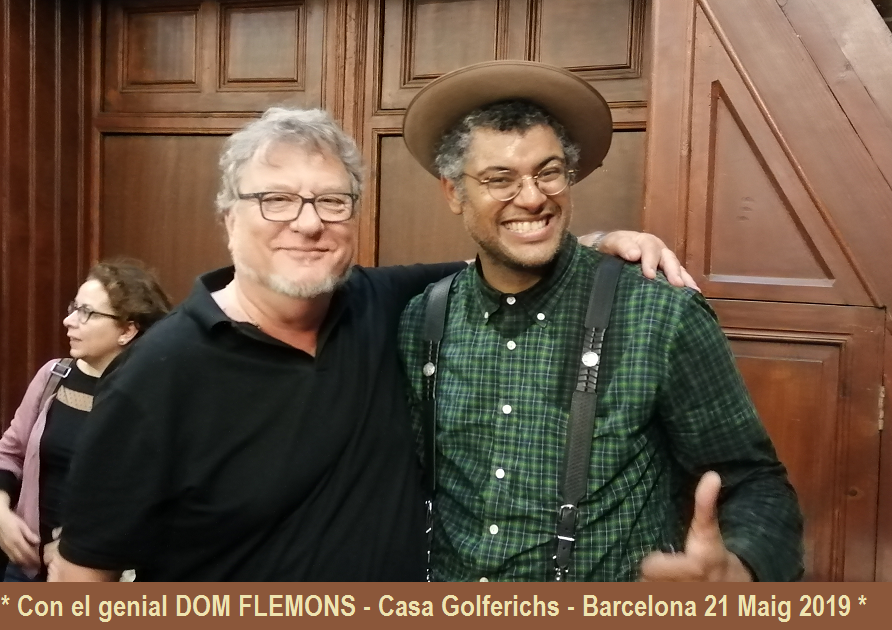 With DOM FLEMONS