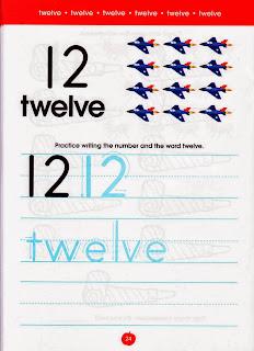 numbers atividades de ingles