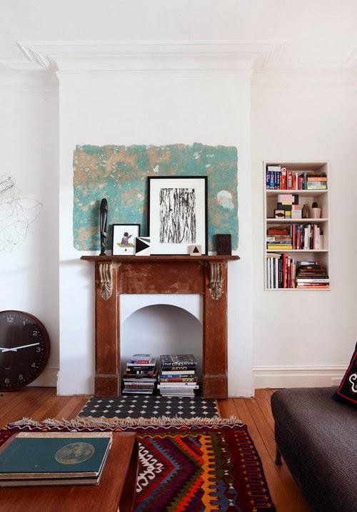 Ideas para decorar chimeneas dos en la pasarela - Como decorar una chimenea ...
