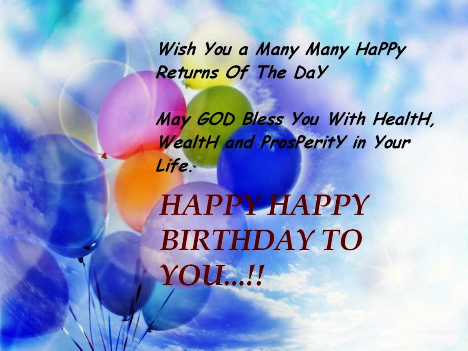 Happy Birthday Wishes And Birthday Images Happy Birthday Happy Birthday Wishes Quotes For