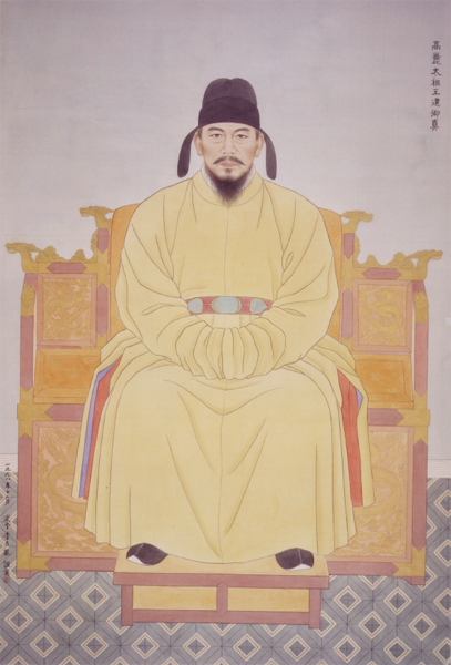 Wanggun, the king of Corea
