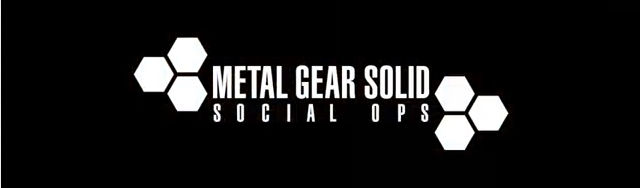 Metal Gear Solid Social Ops