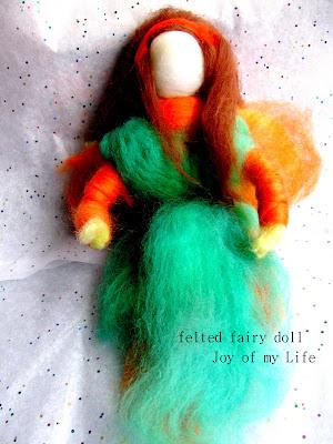 Kids Crafts: Felted Fairy Dolls (Waldorf-style)