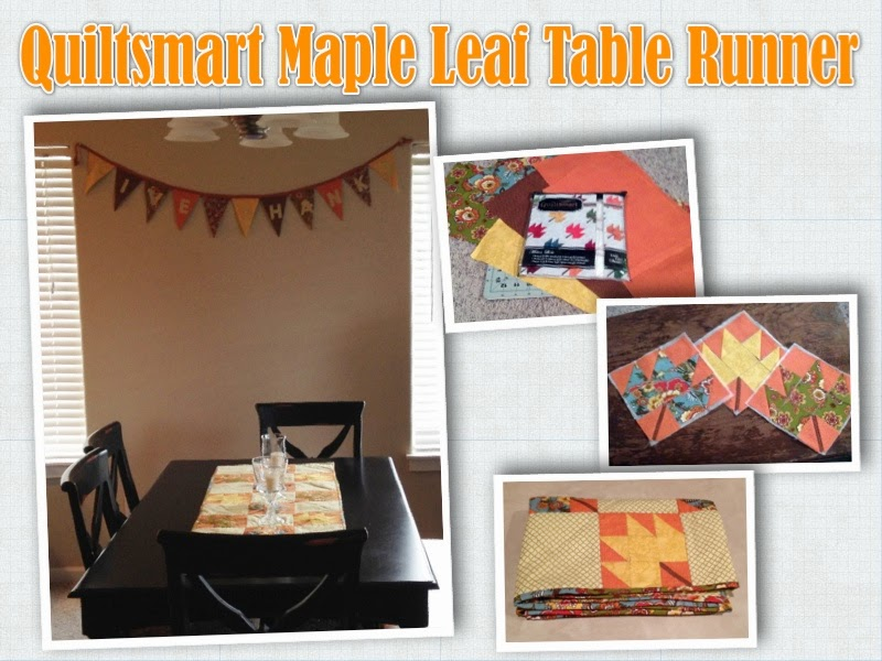 Quiltsmart Maple Leaf Table Runner