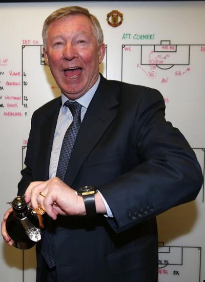 Sir Alex Ferguson Award Award Street 2013