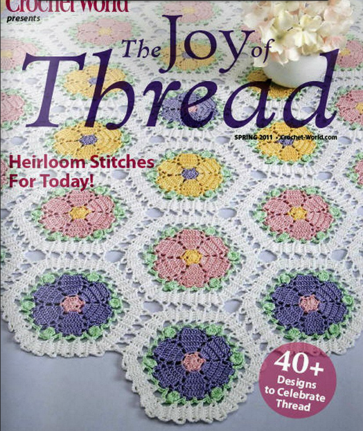 Crochet Stitches Book : ... Crochet Books Online - The Joy of Thread - Heirloom Stitches For Today