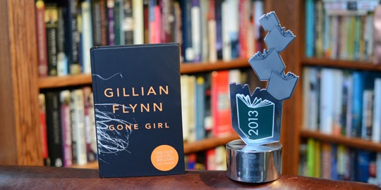 Gone Girl and Orion Books winning National Book Award 2013