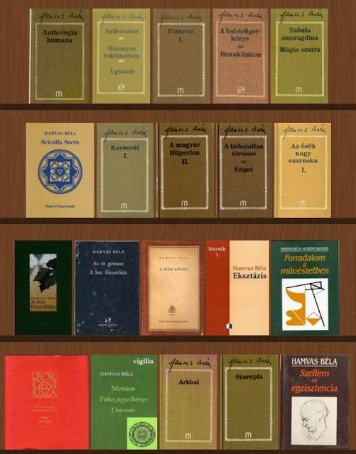 Hamvas Béla könyvek