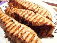 Weight Loss Recipes : Barbecued Salmon