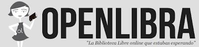 Imagen del logo de OpenLibra - biblioteca con licencias libres