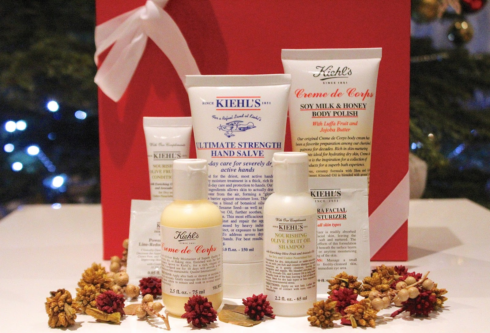 Kiehl\'s Christmas Gift Set | Jessica Joseph