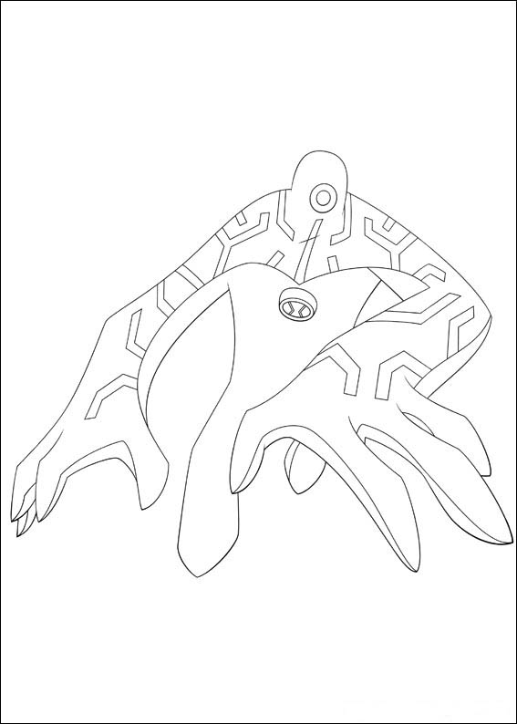 alien coloring pages for teens - photo#11