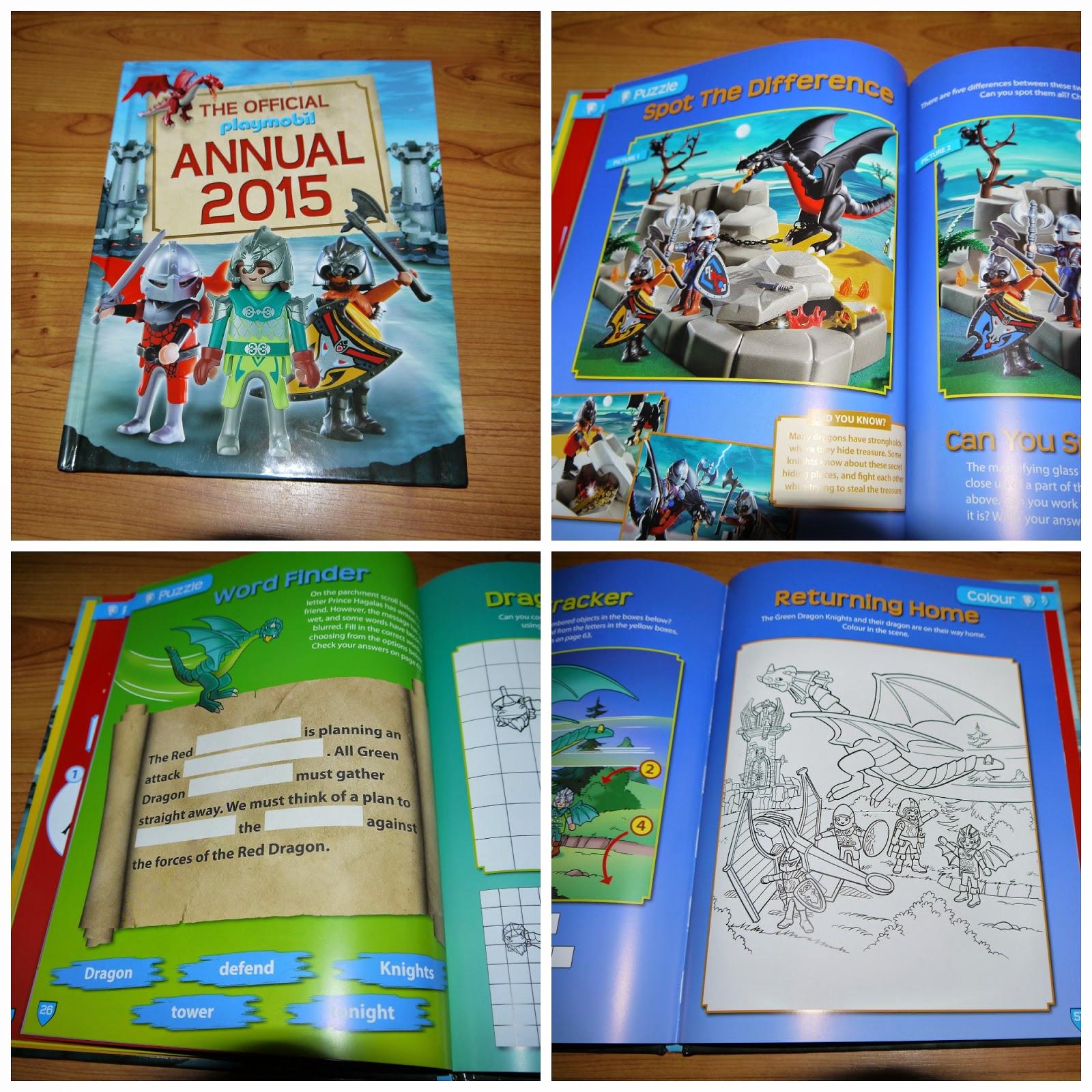 Playmobil, annual