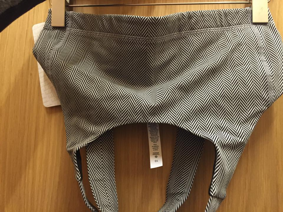 lululemon herringbone all sport bra