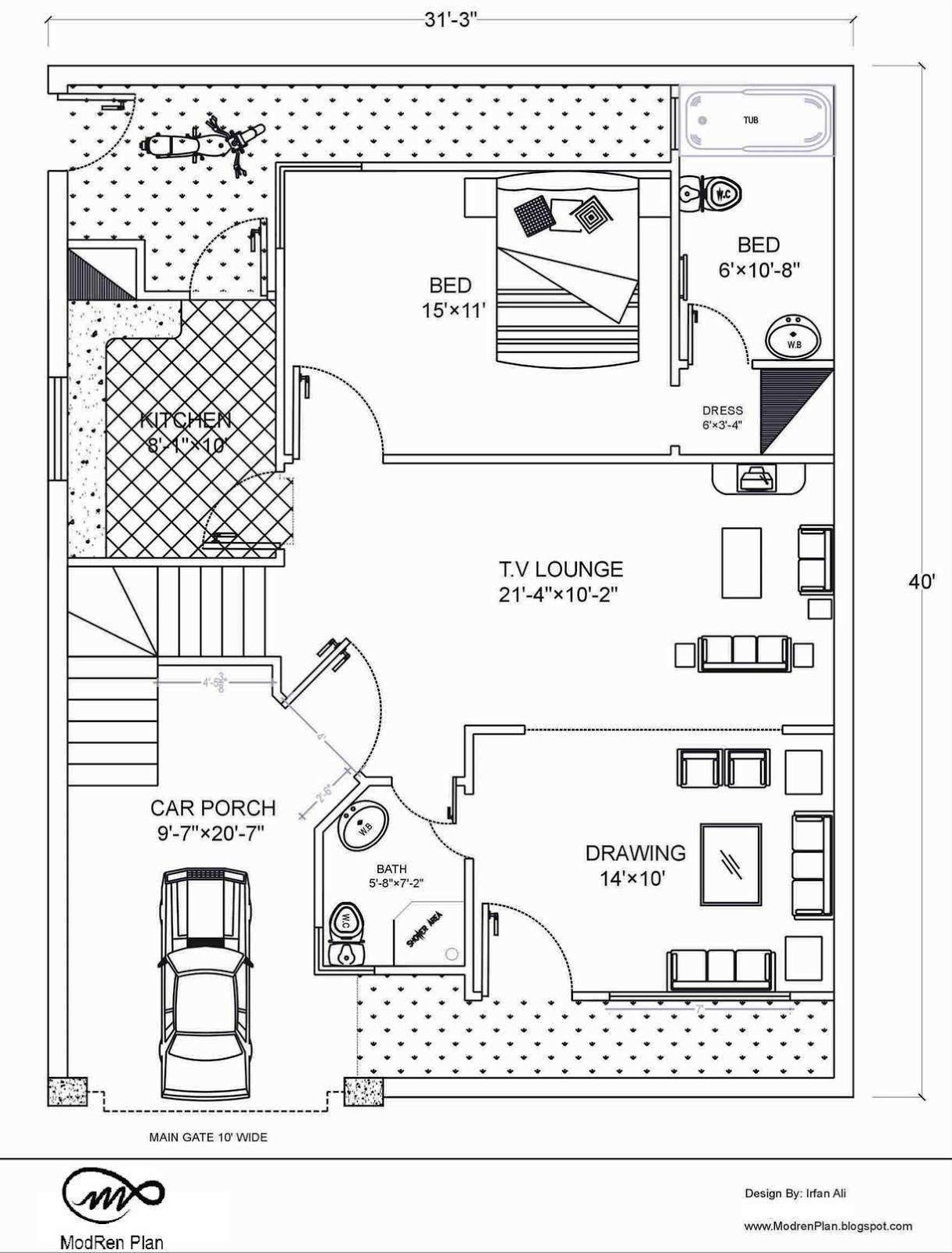 Marla house Plan and map   Detail   x House Plan  Marla Floor Plan   x Feet