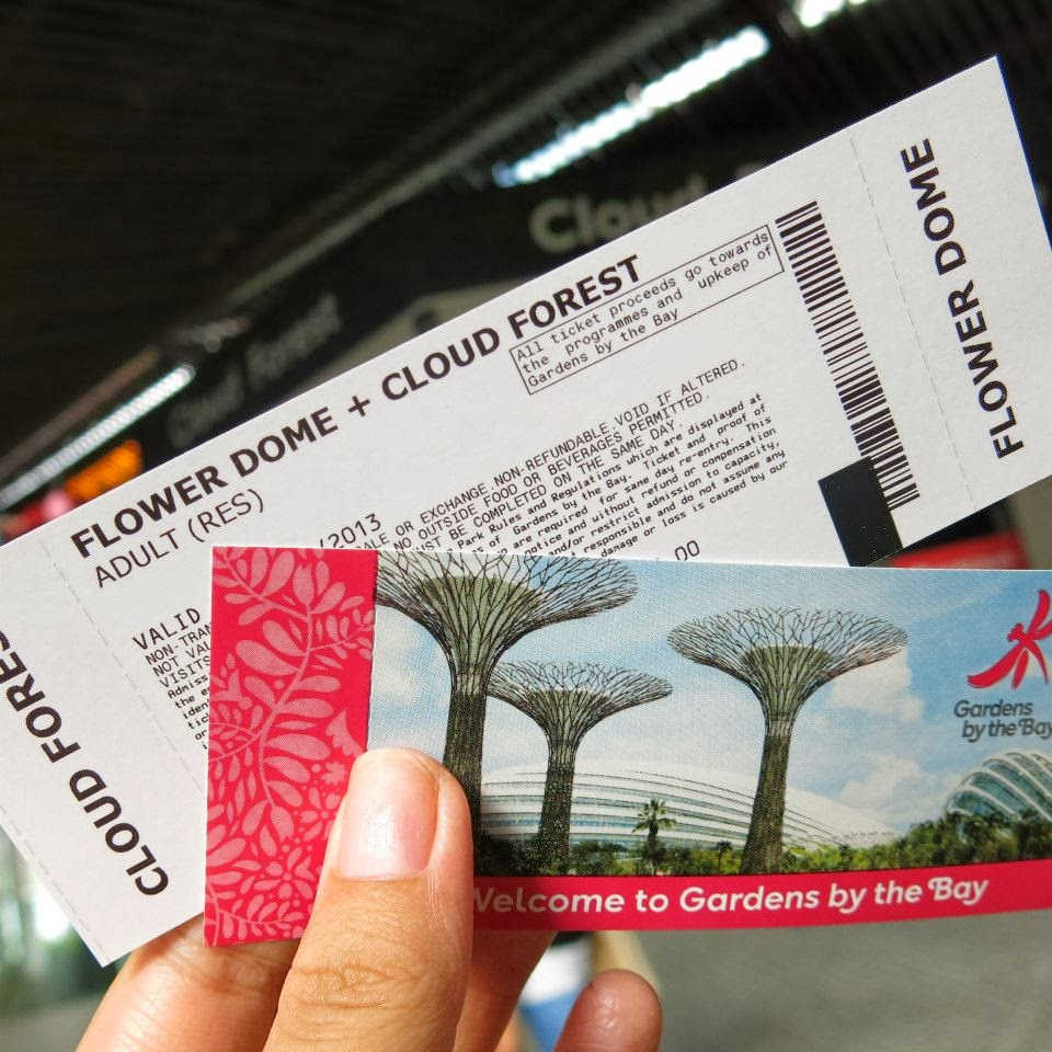 Garden By The Bay Admission Ticket missyimply: gardensthe bay part 2, flower dome and cloud forest