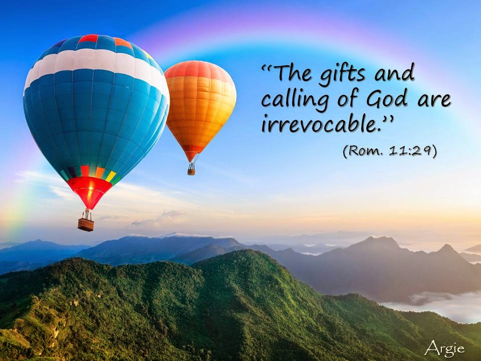 essay on the gifts and callings of god When in harmony with god's purposes, the mix of natural, spiritual and entrepreneurial gifts advance one's destiny with an added dimension home strategic issues general.