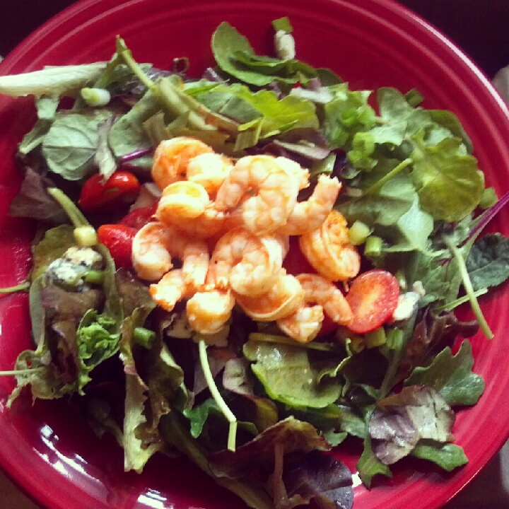 Warm Shrimp And Blue Cheese Pasta Salad Recipe — Dishmaps