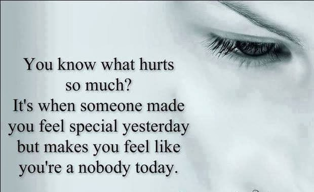 You know what hurts so much? Its when someone made you feel special