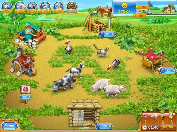 Download Farm Frenzy 10 in 1 Bundle (Portable Mini Games)