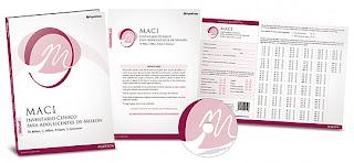 MACI- Inventario clínico para adolescentes de Millon -test