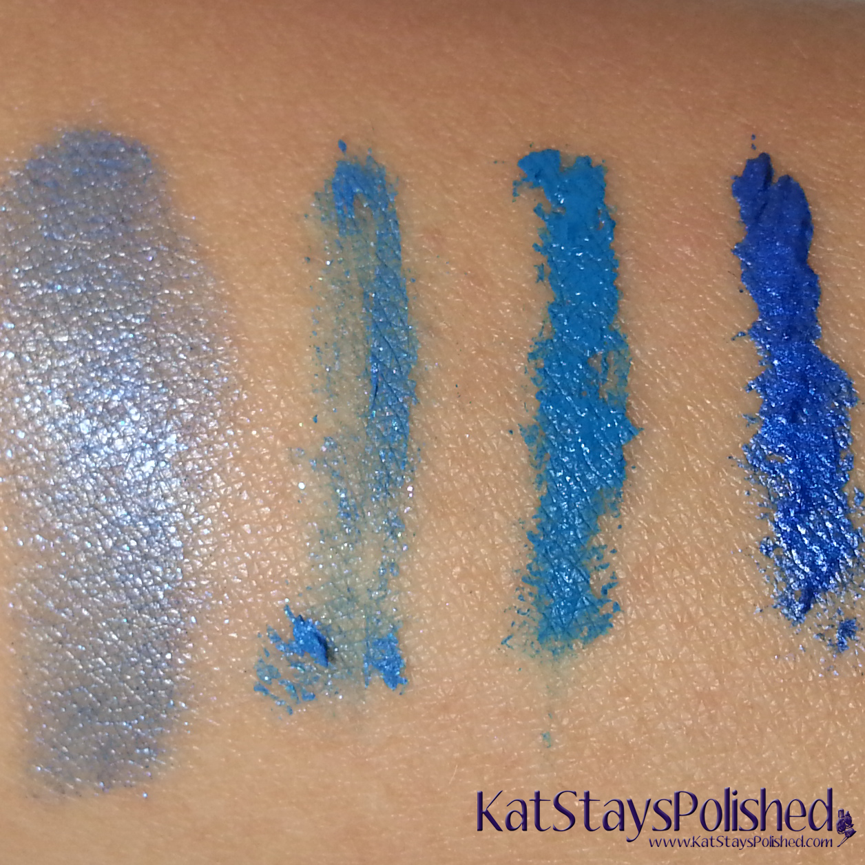 Milani Bella Blue Collection - Lipstick and Mascara Swatches | Kat Stays Polished