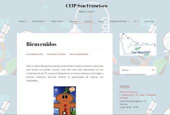web de recursos educativos bilingües del colegio CEIP San Francisco