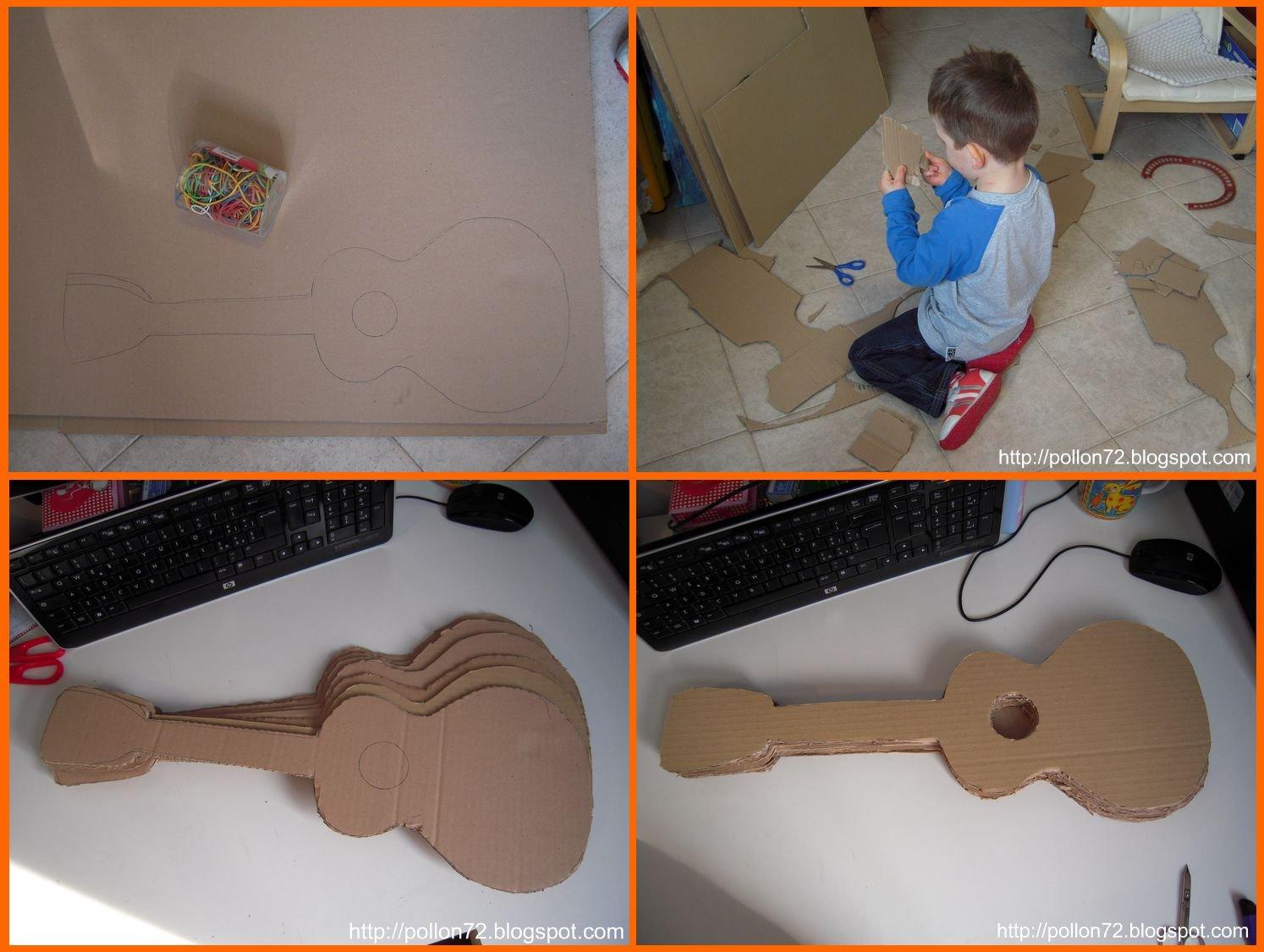 Mamma claudia e le avventure del topastro la chitarra di - Costruire una casetta di cartone per bambini ...