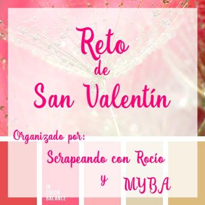 Reto San Valentin Scrapbooking