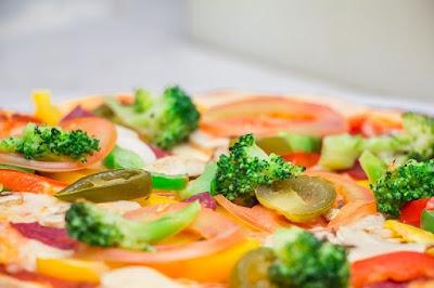 Pizza sayuran ala Italia
