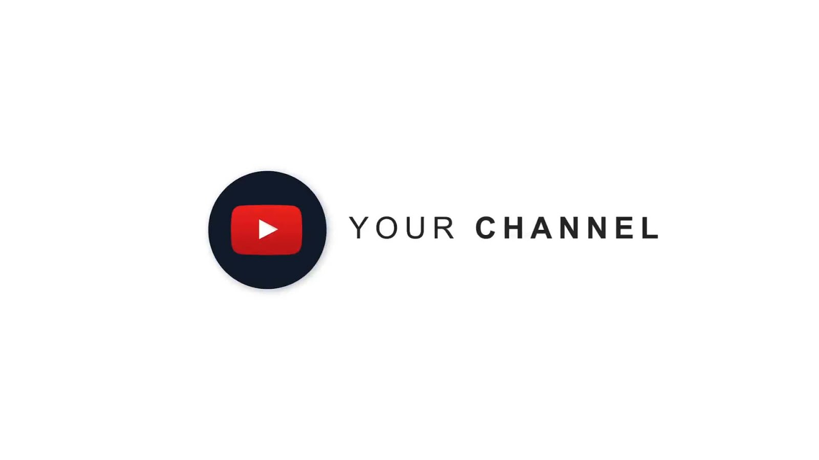 After Effects Template - Simple Logo For YouTube Channel ...