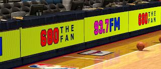 NBA 2K13 Sideline Sponsors Mods