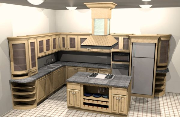 Free Online 3D Kitchen Design