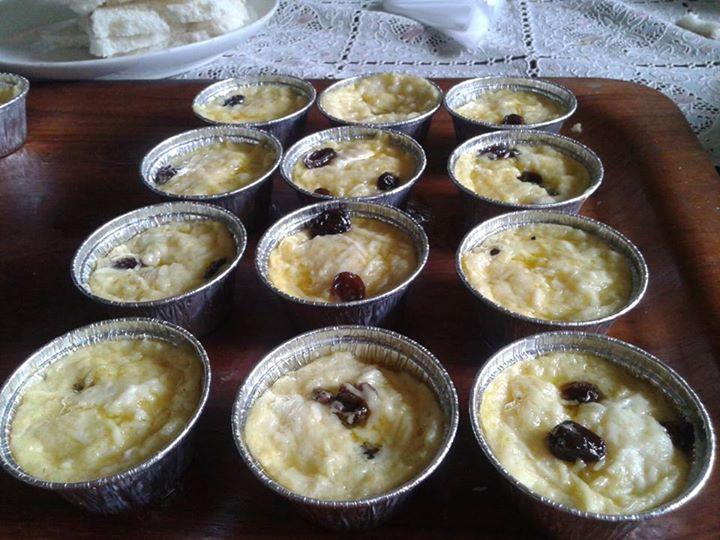 Resep Cara Membuat Puding Roti Kukus di Cup