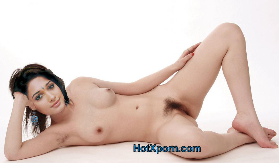 Tamanna Nude Showing Boobs And Hairy Pussy Fake
