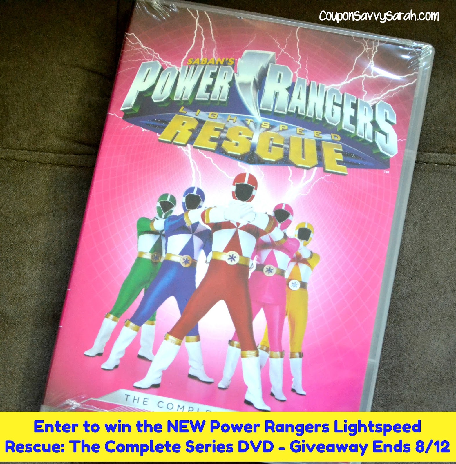 coupon savvy sarah coming soon to dvd power rangers. Black Bedroom Furniture Sets. Home Design Ideas